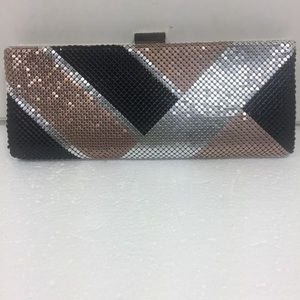 Lulu Townsend Clutch. With Chain.